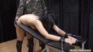 Die Bestrafung der Eve Gagging
