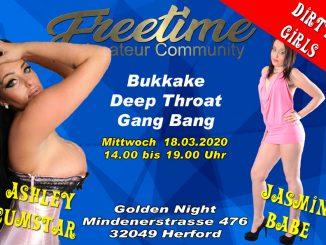 GangBang Filmdreh golden Night